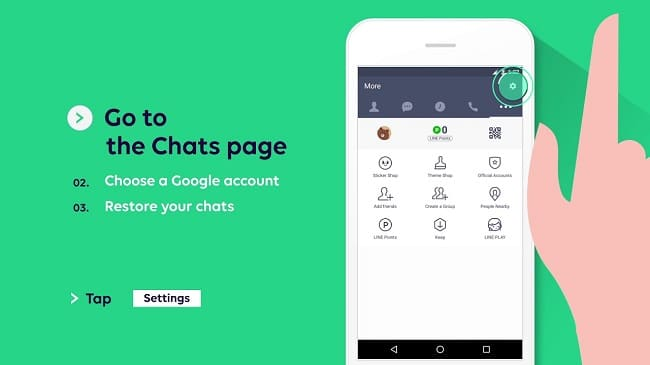 Restore Chat Line