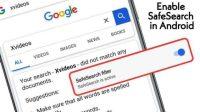 Cara Menonaktifkan Safe Search