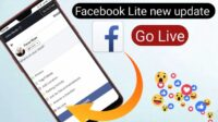 Cara Siaran Langsung di FB Lite