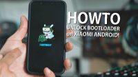 Cara Unlock Bootloader Xiaomi